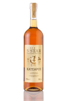 5 Star Brandy 36% 700 ml