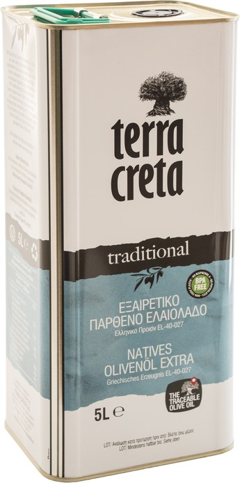 Terra Creta traditional - extra natives Olivenöl 5 Liter