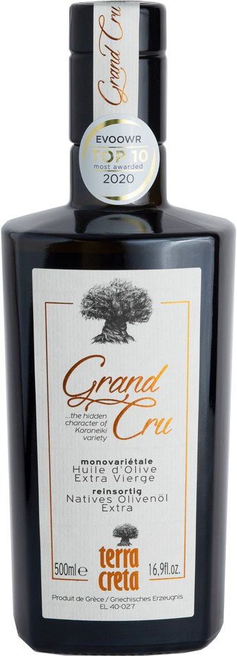 "Terra Creta - extra natives Olivenöl ""Grand Cru"" 500 ml"